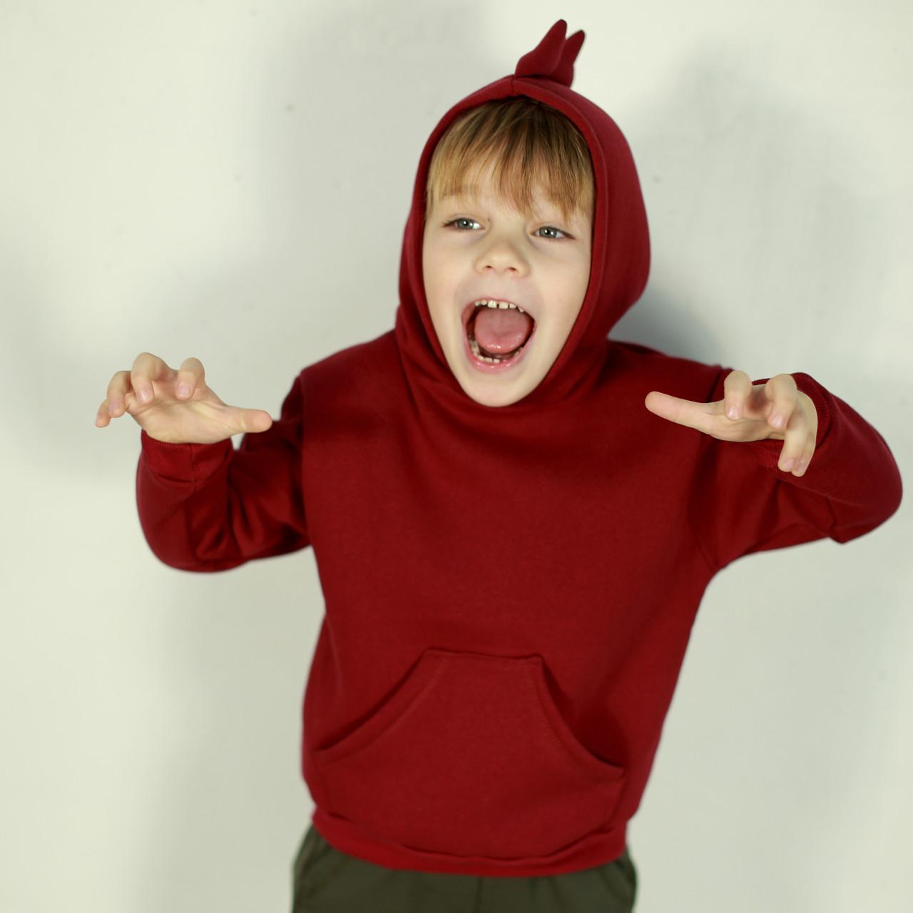 "Худи (толстовка) для ребенка ""Дино"". Динохуди на флисе | Толстовка дитяча ""Діно"""