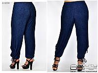 Летние женские брюки для полных женщин Размеры 56.58.60.62.64.66.68.70
