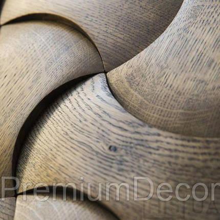 Деревянные 3Д панели стеновые ОРЛАНДО мозаика с дерева дуб, ясень, фото 2