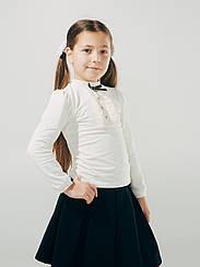 Блуза с кружевом, ТМ Смил, 114612 возраст 13 - 14 лет