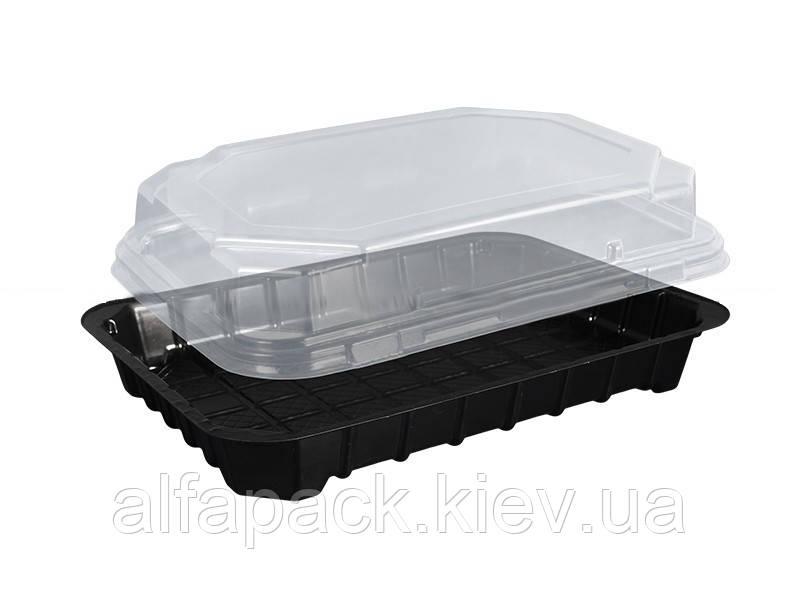 Упаковка для суши 180*138*45, ПС-63, 1 ящик