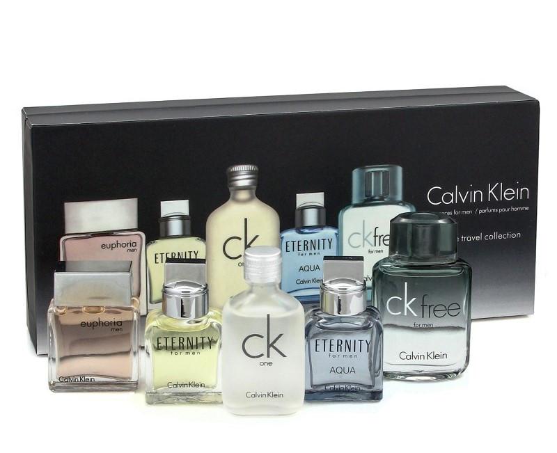 Мужской набор мини-парфюмов CK Deluxe Travel Collection 5 в 1