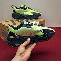 89bb1ab1 Кроссовки Adidas Yeezy Boost 700 VX Lime/Black/Silve мужские , Адидас Изи  Буст