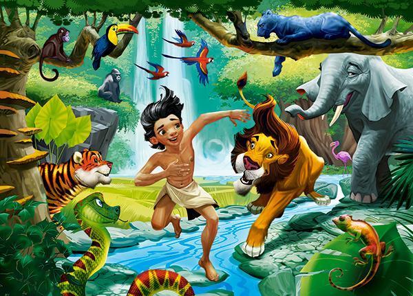 Пазлы Книга джунглей, 120 эл.