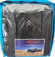 Авточехлы Citroen Jumpy I 1+2 1995-2007 Nika