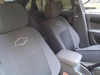 Чехлы на Chevrolet Aveo (хэтчбек) (2002-2011) (Nika) на сидения