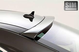 Дефлектор заднего стекла Nissan Qashqai (темный) (2007-2010) (SIM)