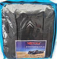 Авточехлы Citroen Jumpy II 1+2 2007- Nika
