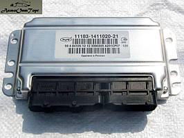 Блок управління двигуном ВАЗ Калина 1117, 1118, 1119 (мізки), вироб-во: Автэл, кат.код: 11183-1411020-21;