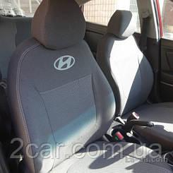 Чехлы на Hyundai Solaris (раздельный) (2010>) (Nika) на сидения