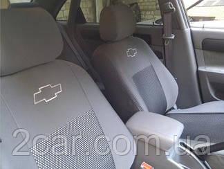 Чехлы на Chevrolet Epica (седан) (2000-2012) (Nika) на сидения