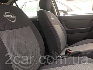 Чехлы на Opel Astra G (цельная) (2004>) (Nika) на сидения