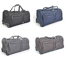 Дорожная сумка на колесах Lys 56 см - 65 л. С выдвижной телескопической ручкой (разные цвета)
