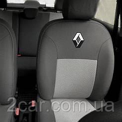 Чехлы на Renault Logan (седан) (2006-2013) (Econom) (Nika) на сидения