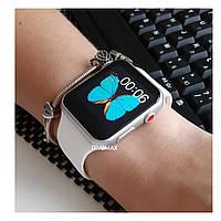 УЦЕНКА! Смарт часы IWO6 самая точная копия Apple Watch  3 серии 42мм в серебряном корпусе