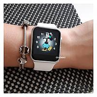 Смарт часы IWO6 самая точная копия Apple Watch  3 серии 42мм в серебряном корпусе