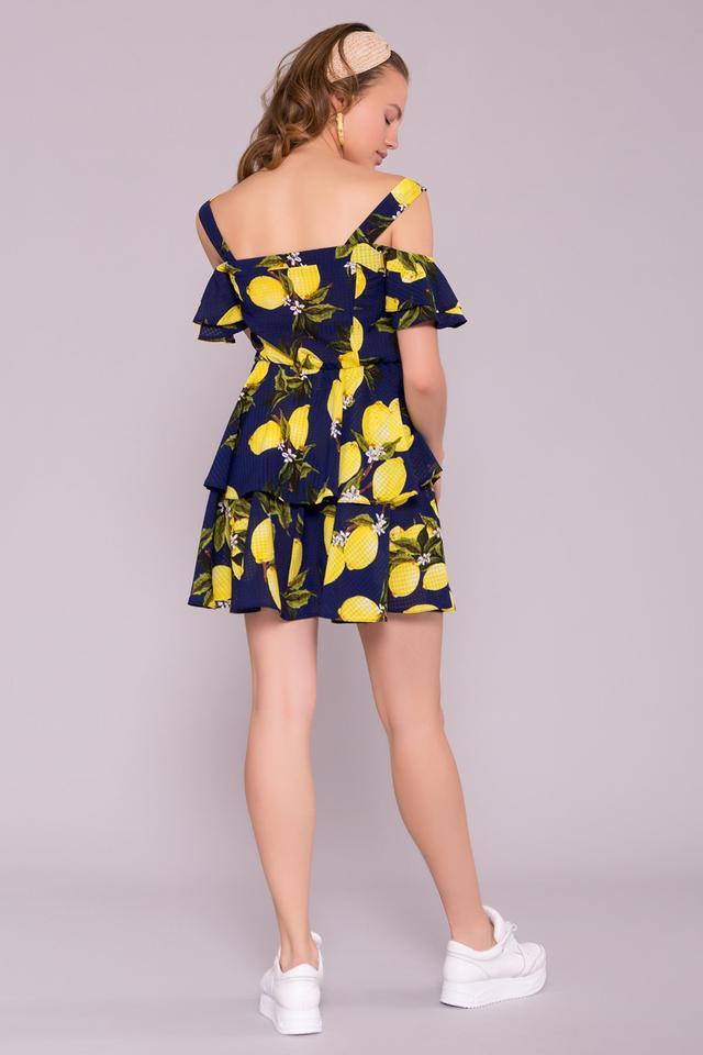 Фото-1 Летнего шифонового платья Маори-4