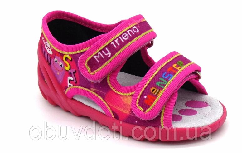 0e17000d0 Тапочки -босоножки детские для девочки Renbut 24 15,5 см: продажа ...