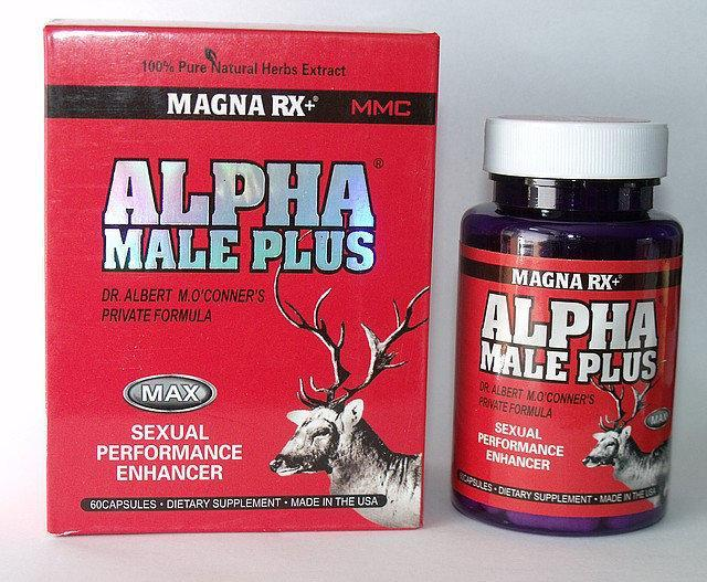 Alpha Male Plus - супер потенция и увеличение члена 60 капсул, фото 1