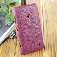 Чехол для Nokia Lumia 520 - Melkco Snap leather cover