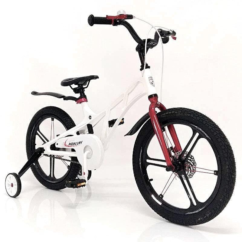 """Спортивный велосипед Mercury 18"""" для детей со съемными дополнительными колесами"""