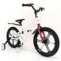 """Спортивный велосипедMercury 18"""" для детей со съемными дополнительными колесами"""