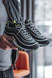 Чоловічі кросівки Nike Air Max 97, Black Green Grey, фото 3