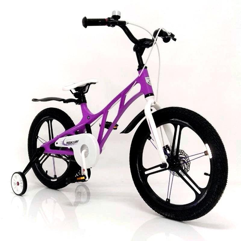 """Детский спортивный велосипед Mercury 16"""" с дополнительными колесами"""