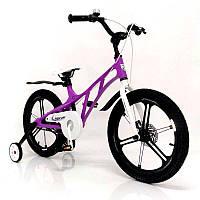 """Детский спортивный велосипед Mercury 16"""" с дополнительными колесами, фото 1"""