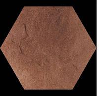 Плитка Taurus Brown Heksagon клинкерная структурная гексагональная (шестиугольная)260*260*11