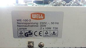 Электронная ловушка для насекомых, светильник москитный Well WE-100-2 Б/У., фото 3