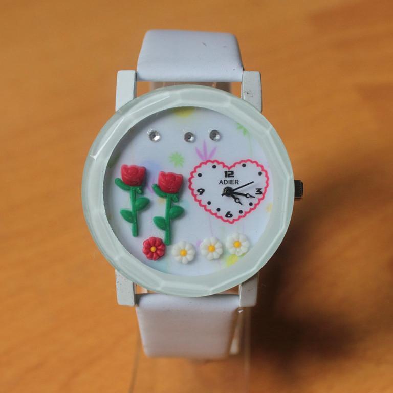 Часы женские с цветами