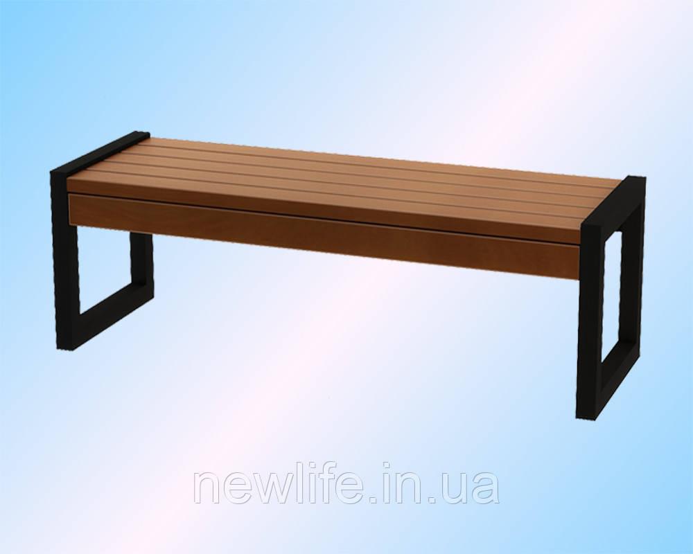 Уличные скамейки, модель Модерн 3