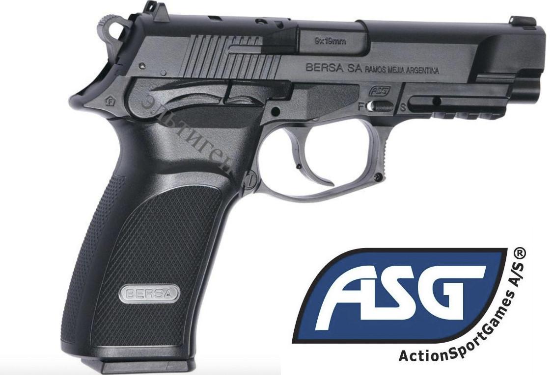 Пістолет пневматичний ASG Bersa Thunder 9 Pro (пластик)