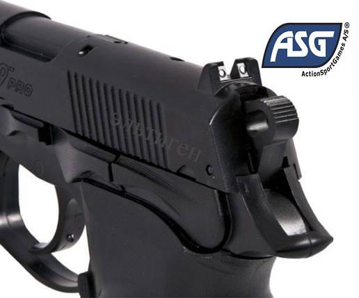 Пістолет пневматичний ASG Bersa Thunder 9 Pro (пластик), фото 2