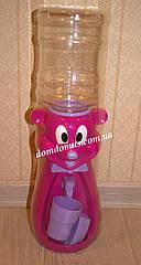"""Детский кулер для воды """"Мышонок"""", Турция фиолетовая"""