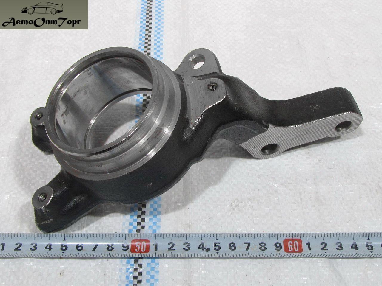 Кулак поворотный левый ВАЗ Калина (1118) и ВАЗ Приора (2170) голый, прои-во: Авто ВАЗ, кат.код: 1118-3001015