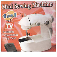 Мини швейная машина 4в1 Mini Sewing Machine (1cорт)