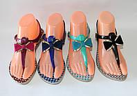 Женские силиконовые босоножки 4 цвета
