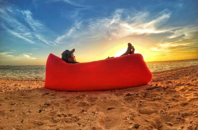 Ламзак Lamzac - надувной диван, лежак, диван-матрас