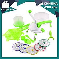 Ручной кухонный измельчитель Roto Champ (Рото Чамп) | овощерезка | блендер шинковка, фото 1