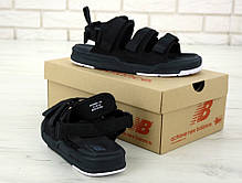 Мужские сандали New Balance Black. ТОП Реплика ААА класса., фото 2