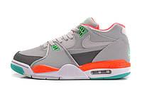 Баскетбольные кроссовки Nike Air Flight 89 grey-orange