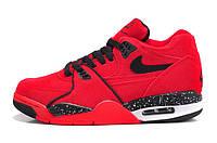 Баскетбольные кроссовки Nike Air Flight 89 красные