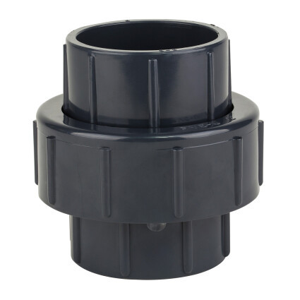 Муфта ПВХ Kripsol розбірна клей клей EH10 63 C діаметр 63 мм