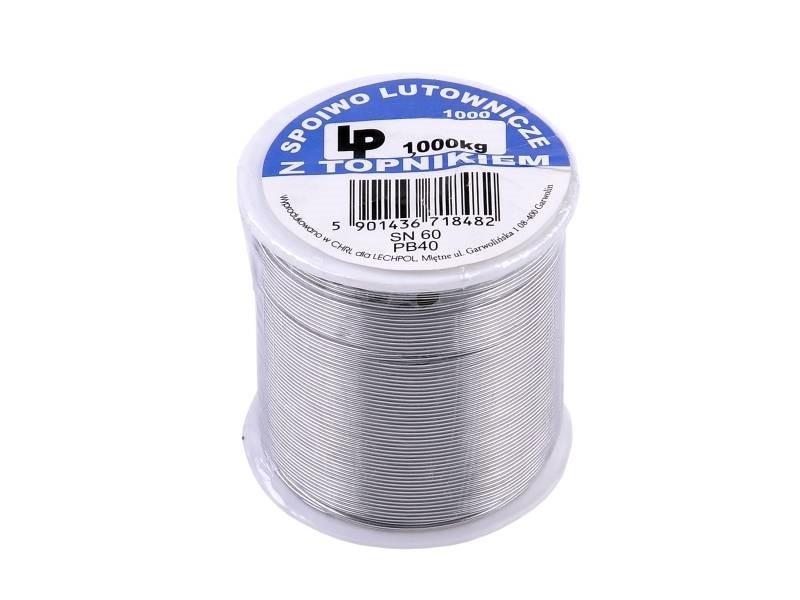 Припой Lechpol 0.7 mm 1000g LUT0027-1000