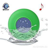 Беспроводная водонепроницаемая портативная акустическая система Bluetooth колонка сабвуфер для душа ванны сауны, басейне Bath Beats TWOOC Зеленая
