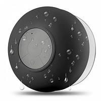 Беспроводная водонепроницаемая портативная акустическая система Bluetooth колонка сабвуфер для душа ванны сауны, басейне Bath Beats TWOOC Черная