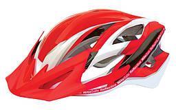 Шлем Spelli SBH-5500, красно-белый