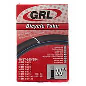 """Велосипедная камера 26"""" GRL"""